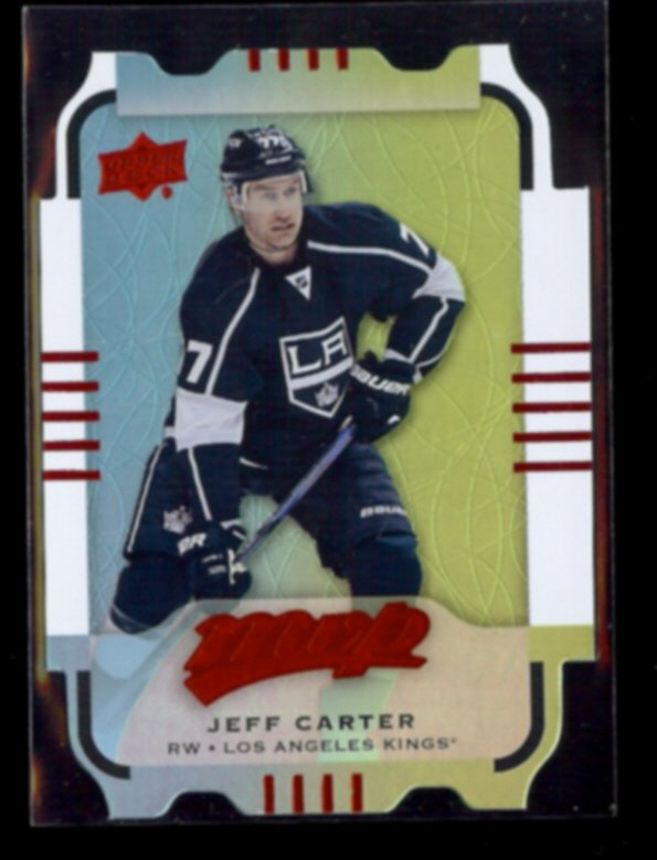 JEFF CARTER 2015 Upper Deck MVP Foil Die-Cut #35.  KINGS