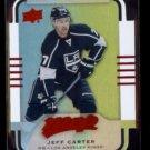 JEFF CARTER 2015 Upper Deck MVP Foil Die-Cut #35.  KINGS