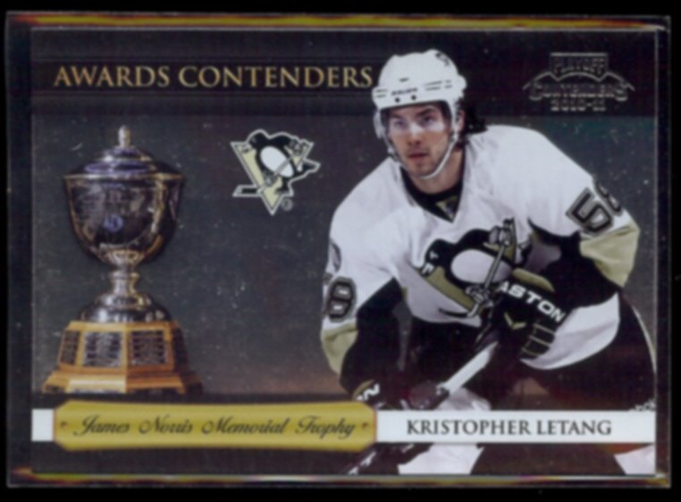 KRISTOPHER LETANG 2010 Playoff Awards Contenders #8.  PENGUINS