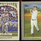 JOEY VOTTO 2011 Topps Gypsy Queen #13 + 2009 Topps Relics #TR33.  REDS