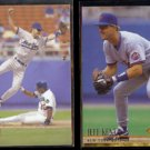 JEFF KENT 1994 Upper Deck #178 + 1994 Ultra #238.  METS