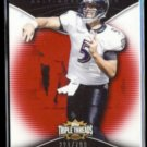 JOE FLACCO 2009 Topps Triple Threads #'d Insert 221/799.  RAVENS