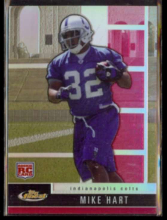 MIKE HART 2008 Topps Finest Rookie (Refractor) #'d Insert 198/699.  COLTS