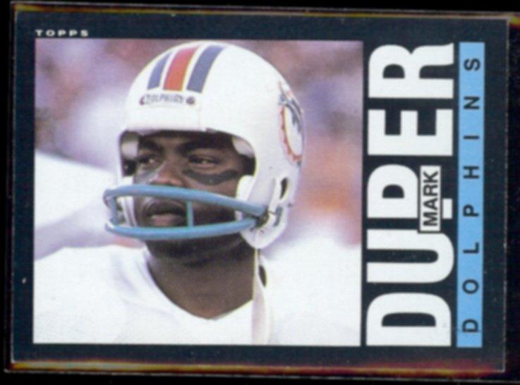 MARK DUPER 1985 Topps #310.  DOLPHINS