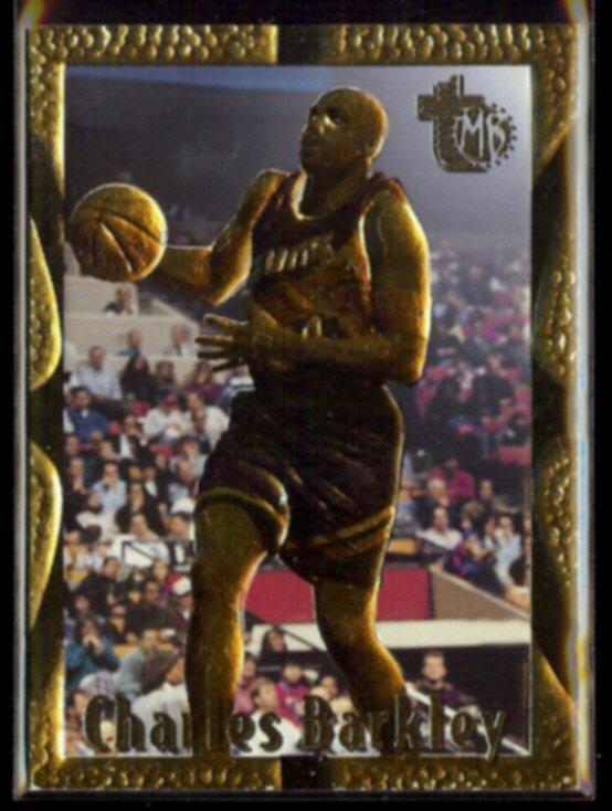 CHARLES BARKLEY 1994 Topps MB GOLD #74.  SUNS - Sturdy Stock
