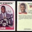 DAVID ROBINSON (2) 1989 Hoops Rookie #138.  SPURS