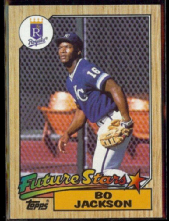 BO JACKSON 1987 Topps Future Stars #170.  ROYALS
