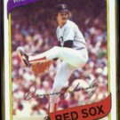 DENNIS ECKERSLEY 1980 Topps #320.  RED SOX