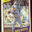 PAUL MOLITOR 1980 Topps #406.  BREWERS