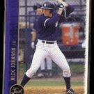 NICK JOHNSON 1999 Just Rookie #27.  TAMPA YANKEES