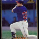 BRIAN GILES 1997 Pinnacle Rookie #176.  INDIANS