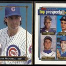 TURK WENDELL 1992 Leaf Gold Rookie Insert + Topps Prospects Gold Ins.  CUBS