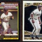 BARRY BONDS 1992 Topps McDonald's Gold + 1993 Black Gold Inserts.  PIRATES
