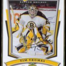 TIM THOMAS 2007 Upper Deck MVP Silver Signature Insert #43.  BRUINS
