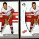 GORDIE HOWE (2) 2005 Upper Deck SP Authentic #38.  RED WINGS