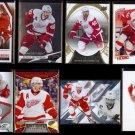 HENRIK ZETTERBERG (8) Card Lot (2008 - 2015) w/ Inserts.  RED WINGS