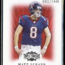 MATT SCHAUB 2007 Topps Triple Threads #'d Insert 0051/1449.  TEXANS