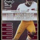 CHARLEY TAYLOR 2008 Leaf Limited #'d Insert 714/999.  REDSKINS