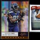 GOLDEN TATE (3) Card Lot (2010 + 2013) w/ Insert.  SEAHAWKS