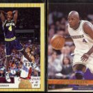 CHRIS WEBBER 1993 Classic Draft Picks #1 + 1993 Ultra Rookie #252.  MICHIGAN / WARRIORS