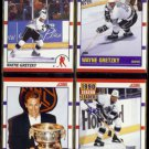WAYNE GRETZKY (4) Card 1990 Score Lot #'s 1, 347, 361, 352.  KINGS