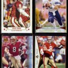 STEVE YOUNG (4) Card Lot (1995 - 2013)  49ers