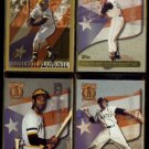 ROBERTO CLEMENTE (3) 1997 Topps Tribute + 1997 Topps 21.  PIRATES