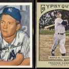 MICKEY MANTLE 1996 Topps (1952 Reprint) + 2011 Topps Gypsy Queen.  YANKEES