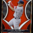 JACOBY ELLSBURY 2012 Topps Chrome Die Cut Insert #DD-JE.  RED SOX