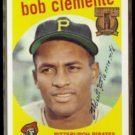 ROBERTO CLEMENTE 1997 Topps (1959) Reprint Stamp Insert #478/ #5 of 19.  PIRATES