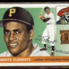 ROBERTO CLEMENTE 1997 Topps (1955) Reprint Stamp Insert #164/ #1 of 19.  PIRATES