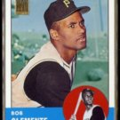 ROBERTO CLEMENTE 2000 Topps (1963) Reprint Stamp Insert #540/ #19 of 50.  PIRATES