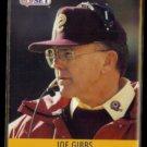 JOE GIBBS 1990 Pro Set #333.  REDSKINS
