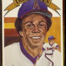 ROD CAREW 1982 Donruss Diamond King #8.  ANGELS