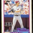 RANDY READY 1989 Topps Traded #102T.  PHILLIES