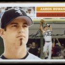 AARON ROWAND 2005 Topps Heritage #321.  WHITE SOX