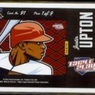 JUSTIN UPTON 2012 Panini Triple Play #91.  DBACKS