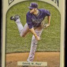 WADE DAVIS 2011 Topps Gypsy Queen #256.  RAYS
