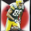 GREG JENNINGS 2009 Topps Triple Threads #'d Insert 467/799.  PACKERS