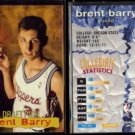 BRENT BARRY (2) 1995 Stadium Club Draft Picks #15.  CLIPPERS