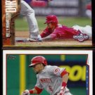 BILLY HAMILTON 2015 Topps Opening Day Hit The Dirt Insert + 2014 #478.  REDS