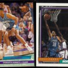 DELL CURRY 1992 Ultra #18 + 1992 Topps #242.  HORNETS