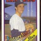 AL LEITER 1988 Topps Future Star #18.  YANKEES