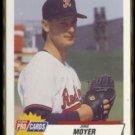 JAMIE MOYER 1993 Fleer Pro Cards #234.  RED WINGS