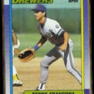 TERRY FRANCONA 1990 Topps #214.  BREWERS