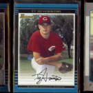TY HOWINGTON (3) Card Bowman Lot (2000 + 2001) w/Rookie + Chrome.  REDS