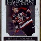 JEREMY ROENICK 2011 Panini Playoff Contenders Foil #17.  BLACKHAWKS