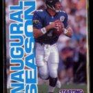 STEVE BEUERLEIN 1996 Kenner Starting Lineup Card N#OB.  JAGUARS