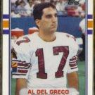 AL DEL GRECO 1989 Topps Traded #6T.  CARDS