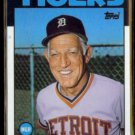 SPARKY ANDERSON 1986 Topps #411.  TIGERS